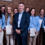 Symon Scott CEO at the TOCAL Agricultural College graduation