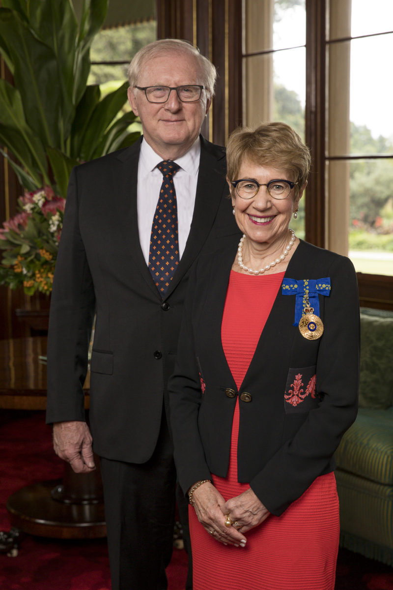 Her-Excellency-the-Honourable-Margaret-Beazley-AO-QC-Governor-of-New-South-Wales-and-Mr-Dennis-Wilson-Low-Res